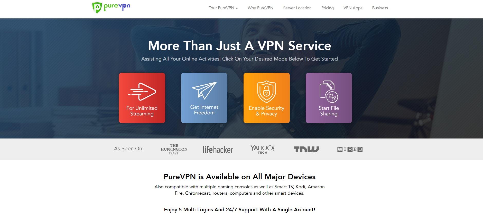 purevpn best server