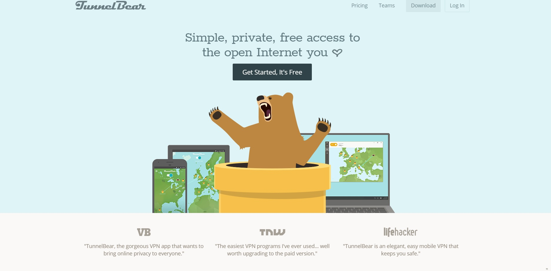 Tunnelbear VPN Review - VPN Adviser