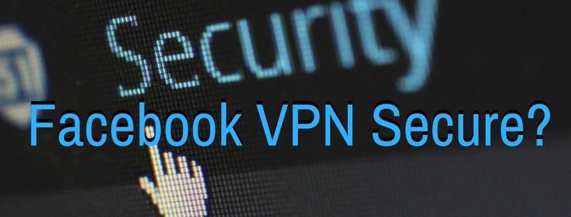 Facebook VPN
