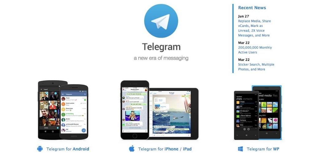 Telegram Secure Messaging App