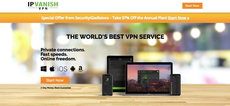 IPVanish small business VPN