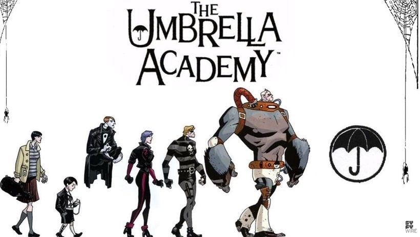 Stream the Umbrella Academy on Netflix