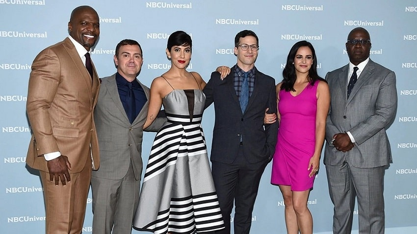 The Cast of Brooklyn Nine Nine