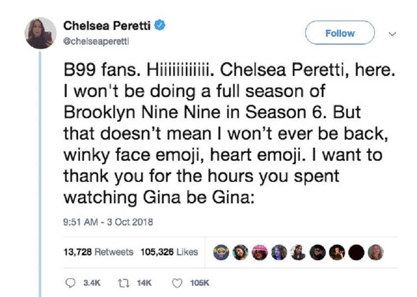 Chelsea Peretti on Twitter