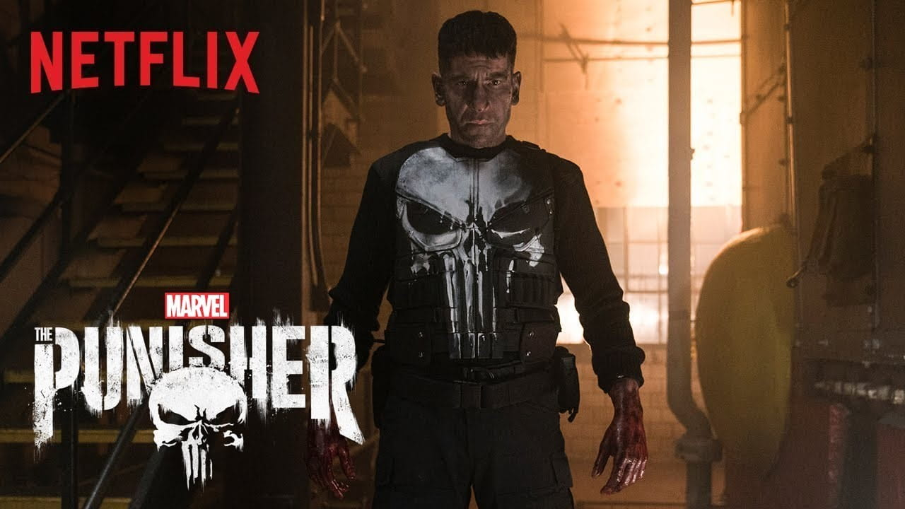 Stream the Punisher on Netflx